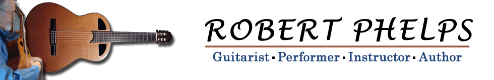 Robert Phelps Professional Guitarist